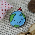The Earth Lapel Pin