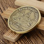 custom coins_Iowa state capitol 2