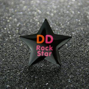 star custom lapel pins