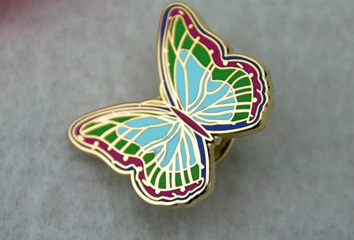 Hard Enamel_Butterfly