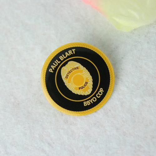 Paul Blart custom lapel pins-gs-jj.com
