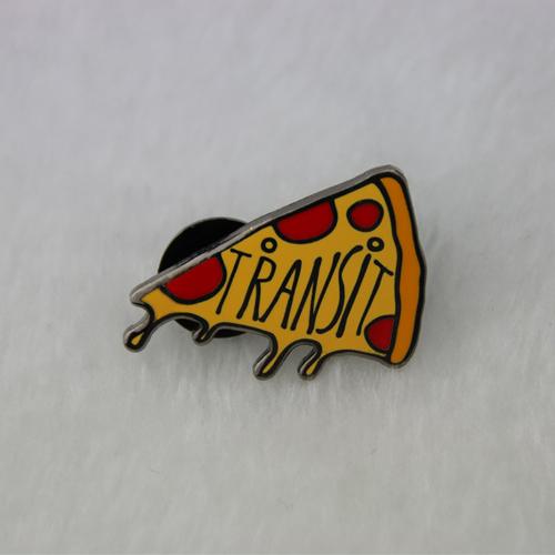 Pizza custom lapel pins-gs-jj