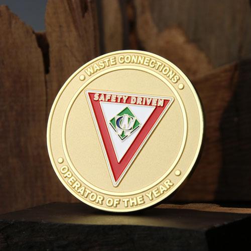 Challenge Coins Coporate - GS-JJ