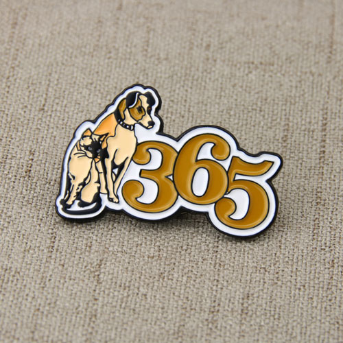 Cat Dog Lapel Pins-GSJJ