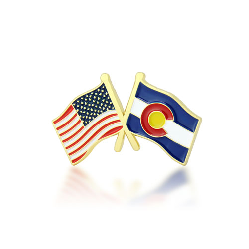 Colorado and USA pins-GSJJ