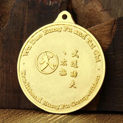 Kung Fu Custom race medals-gs-jj.com
