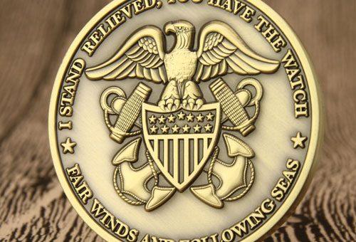 US Navy Custom Challenge Coinsgs-jj.com