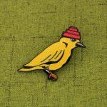 Custom Lapel Pin_bird