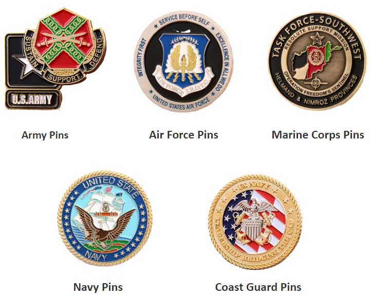 5-Types-Military-Pins