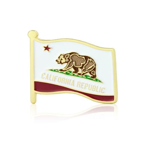 Custom Pins - GS-JJ -  USA Flag Pins