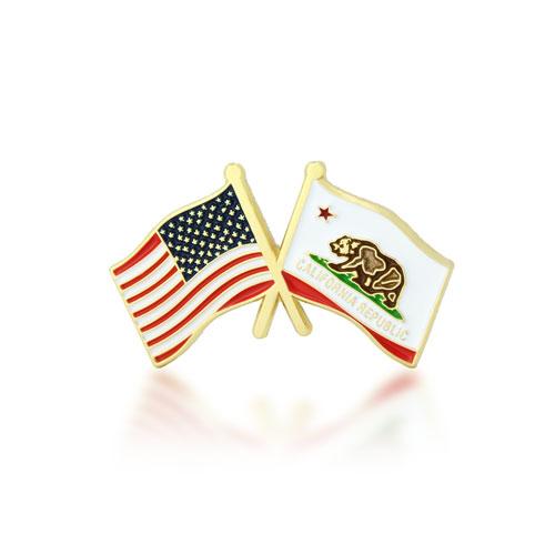 GS-JJ -  USA Flag Pins