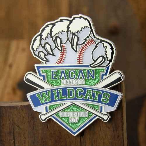Custom Pins For Baseball