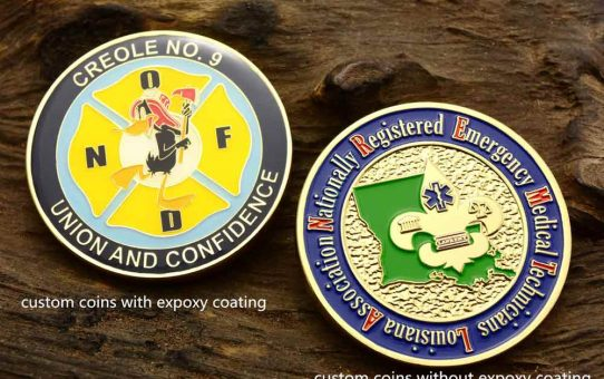 Epoxy vs No Epoxy Coins