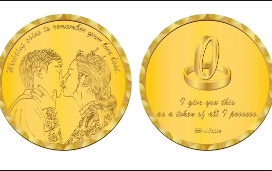 Royal Wedding With Coins How About You