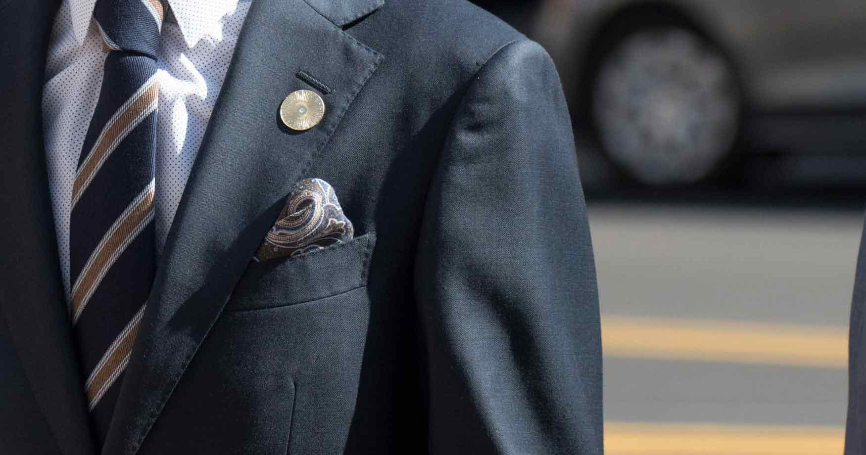 Watch - How to multiple wear lapel pins video