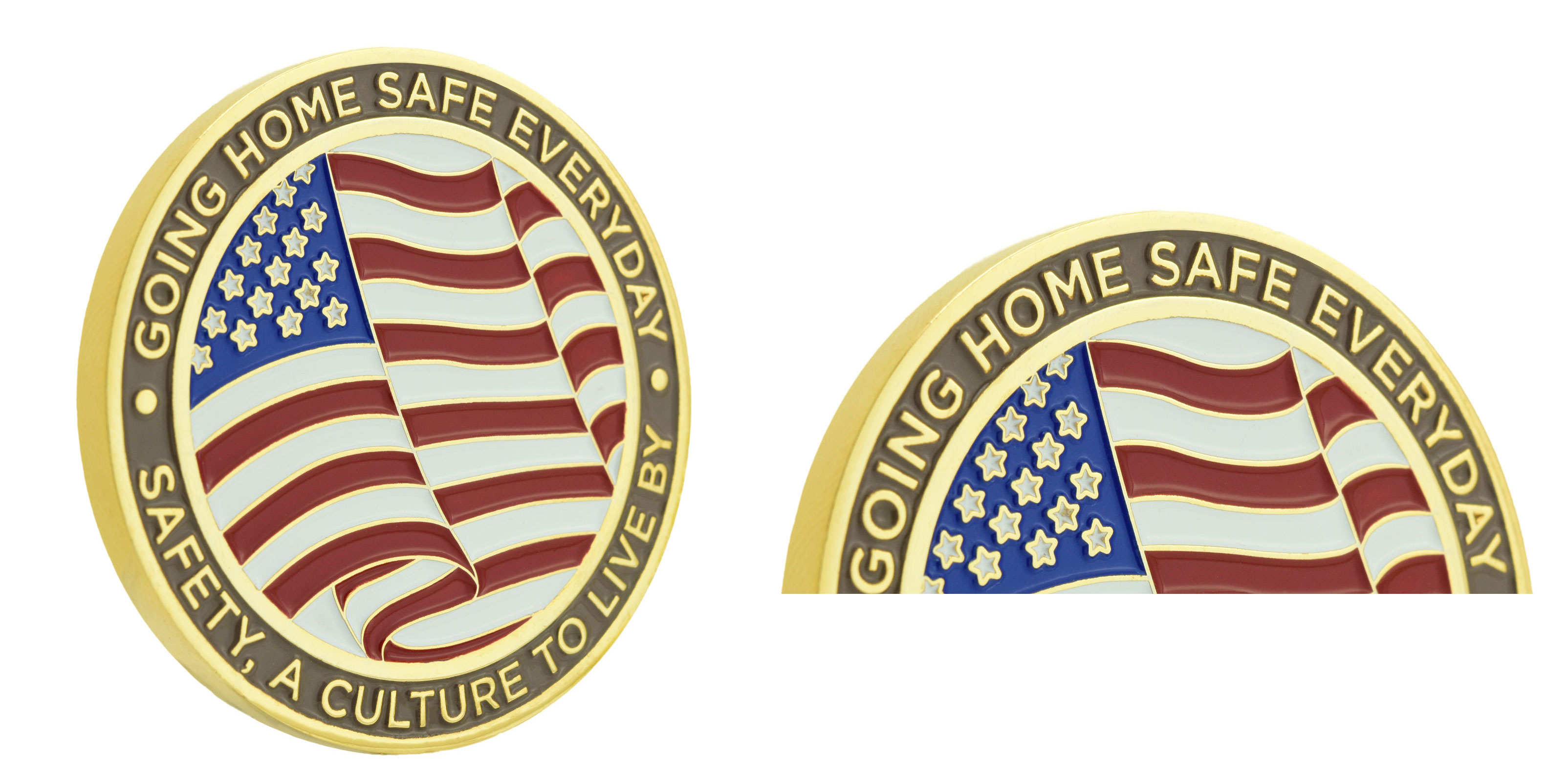 How to choose the proper edge for your challenge coins