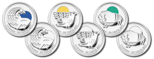 25-cent Commemorative Circulation Coins