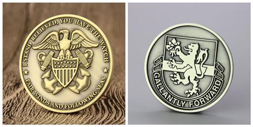 2D VS 3D Challenge Coins