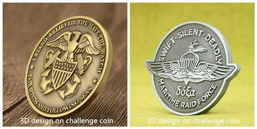 2D and 3D Challenge Coins_ structure