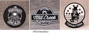 75% Custom Patches