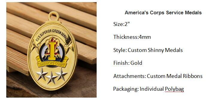America's Corps Service Medals