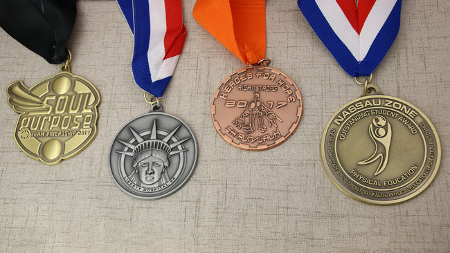 Antique medals