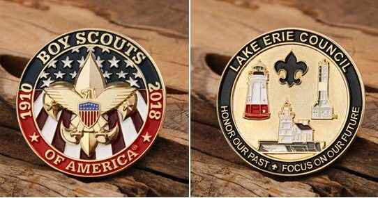 Boy Scouts of America Challenge Coins