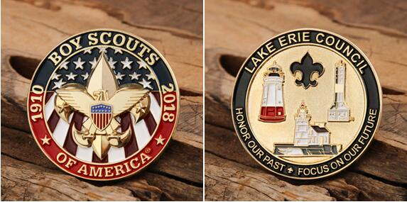 Boy Scouts of America Custom Coins
