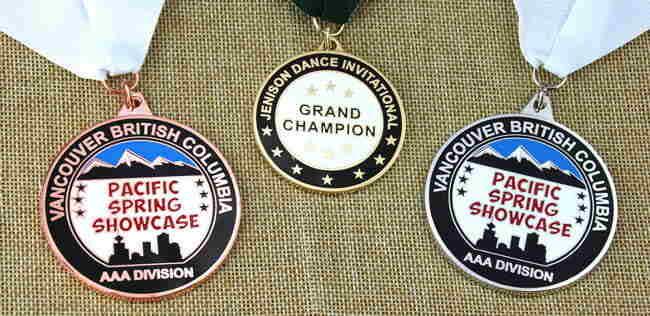 Custom Cloisonné Medals