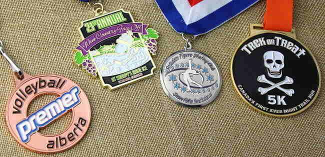 Custom Soft Enamel Medals