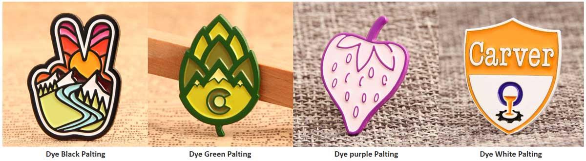 Dye-Metal-Platings