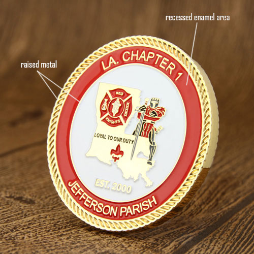 Firefighters Custom Challenge Coins