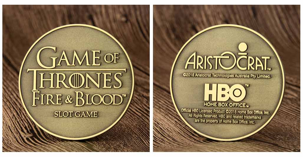 Game of Thrones Challenge Coins