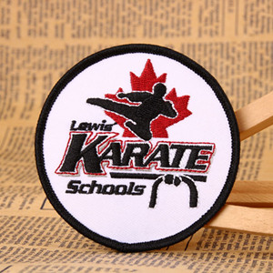 Karate Custom Patches