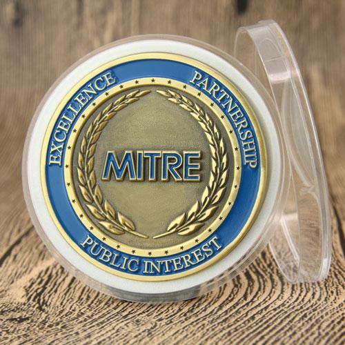 MITRE Corporation Challenge Coins_backMITRE Corporation Challenge Coins_back