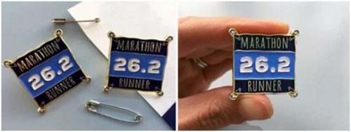 Marathon Custom Lapel Pins