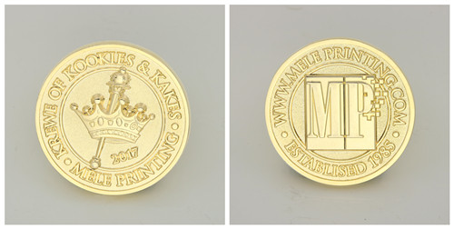 Mele Printing Challenge Coins