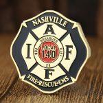Nashville Firefighter Challenge Coins