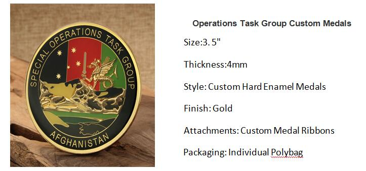 Operations Task Group Custom Medals