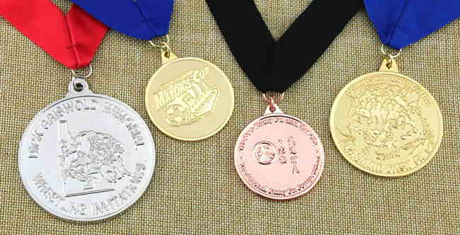 Sandblast Medals