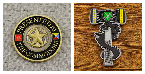 Shape for challenge coins