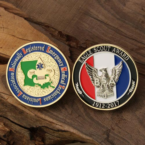 Difference between Soft Enamel and Hard Enamel Challenge Coin
