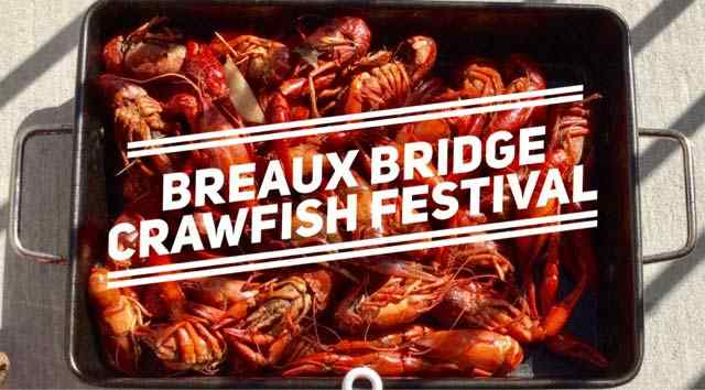 The Crawfish Festivals in Breaux Bridge Louisiana