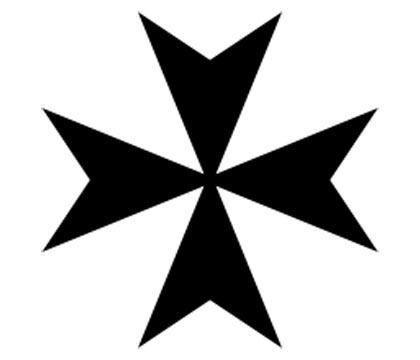The Maltese cross icon