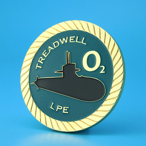 Treadwell Corporate Challenge Coins