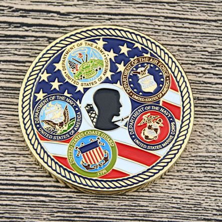 Veterans Custom Military Coins