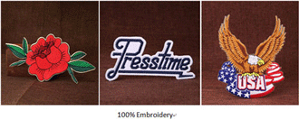 100% Custom Patches