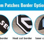 custom patches border
