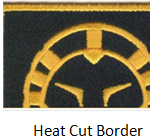 custom patches border options