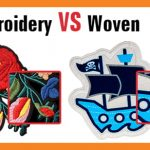 embroidery VS woven